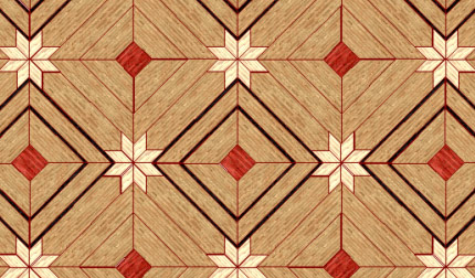 Artistic Floor Design :: Patterns - Hardwood Floors Installaation, Sanding And Refinishing - Toronto, Mississauga, Oakville